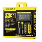 Nitecore D4 - LCD charger
