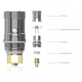 Eleaf iJust 2/iJust S/Melo/Melo 2/Melo 3/Melo 3 Mini RBA replacement coil